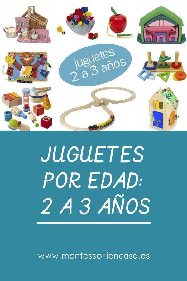 A AgeToMontessori Años 0 Toys Por Edad2 3 By Juguetes SUVpqzM