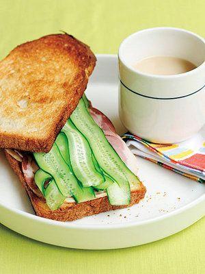 【ELLE a table】きゅうりとハムの香ばしいサンドイッチレシピ|エル・オンライン
