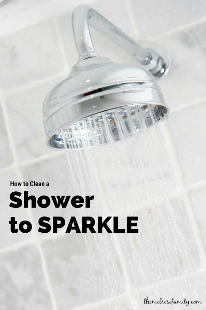Do you hate cleaning the bathroom? We're making it super easy with our tips on How to Clean a Shower to Sparkle.