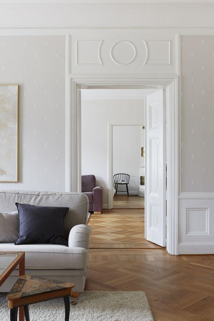 Sekelskifte. Stucco. Scandinavian interior. Fantastic Frank Real Estate.