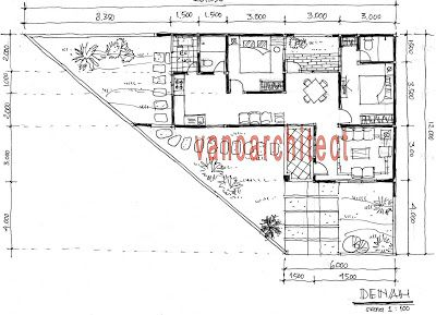 arsitek rumah minimalis modern sketsa ide renovasi rumah