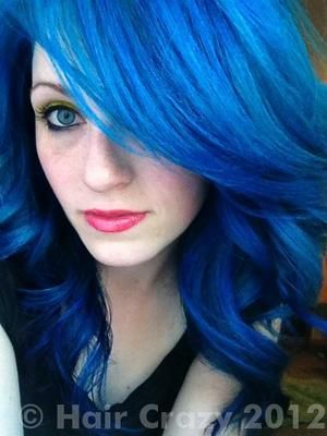 Best Hair Color Images On Pinterest Make Up Looks Cabello De - Hair colour in blue