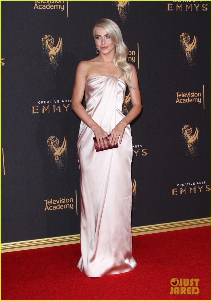 Newlyweds Julianne Hough & Brooks Laich Attend the Creative Emmy Awards 2017