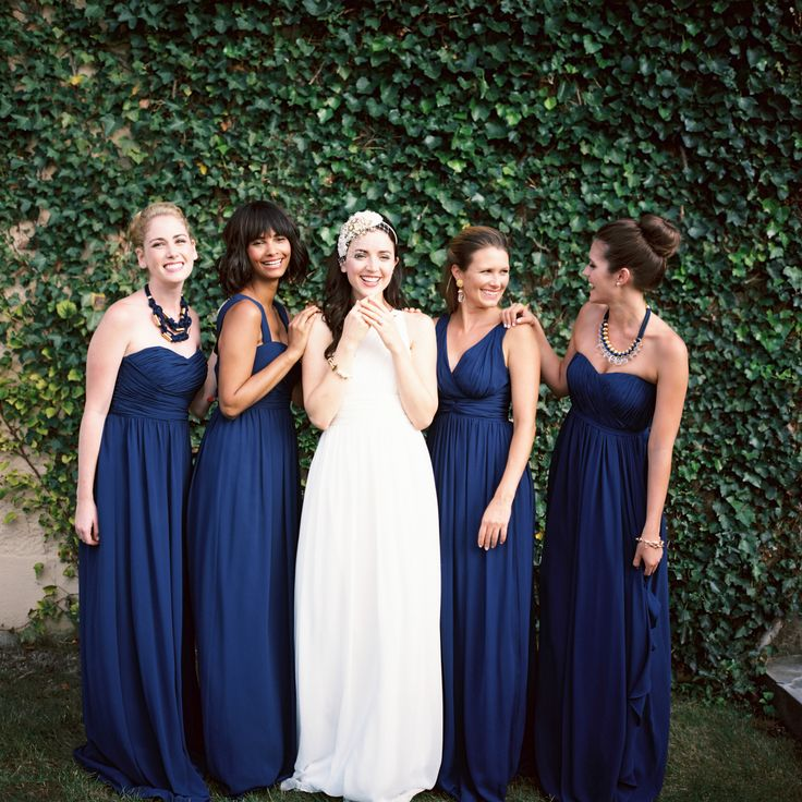 Blue Bridesmaid Dresses On Brideside Choose From Hundreds Of Gowns