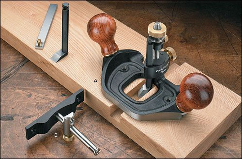 Veritas® Router Plane - Lee Valley Tools Option B Router Plane and Fence