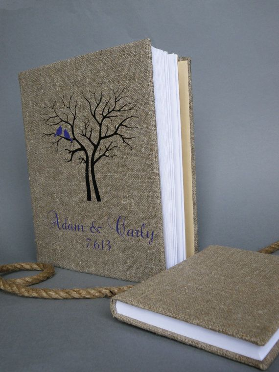 Wedding rustic old style photo album or scrapbook by pastinshs, $70.00