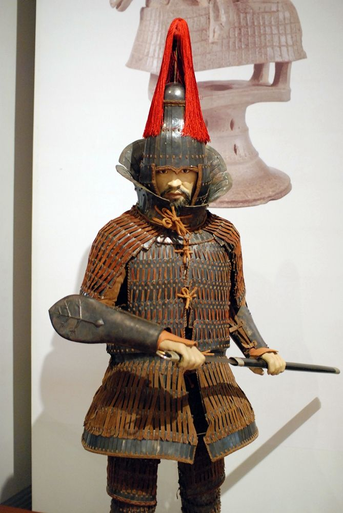 Korean lamellar armor, Gaya confederacy.