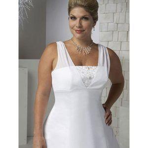 Vestidos de novia para mujeres gorditas alegres