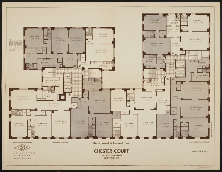 floor plans | Floor Plans « Chester Court