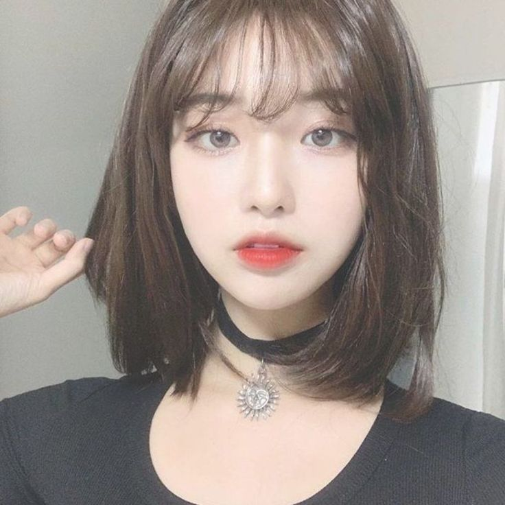 Ulzzang Girl Short Hairstyle In 2020 Ulzzang Hair Korean Short Hair Short Hair Styles