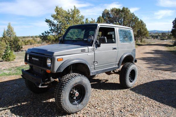 limited to 65mph on the highway (198X Suzuki Samurai ...