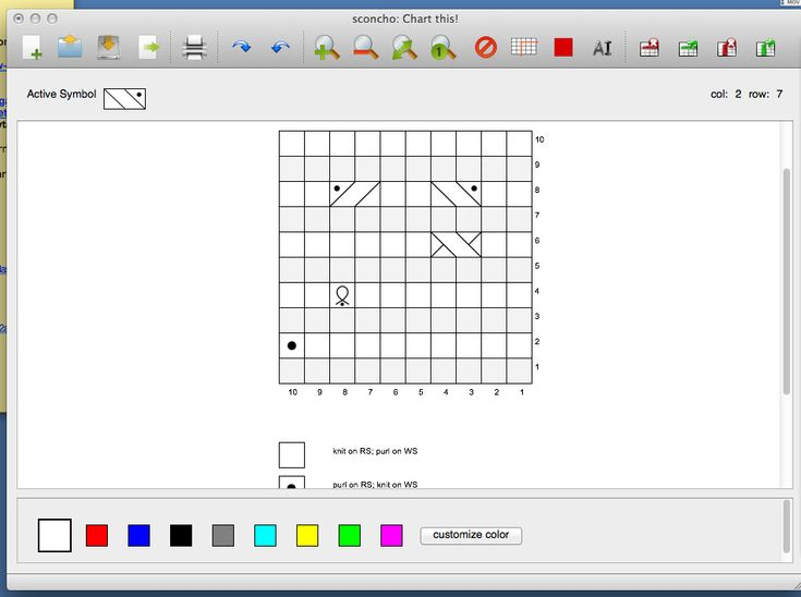 Knitting Diagram Software : Best software images on pinterest knitting