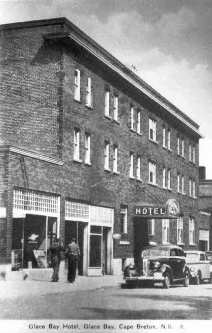 Glace Bay Hotel, Union Street, Glace Bay, Cape Breton, 1938
