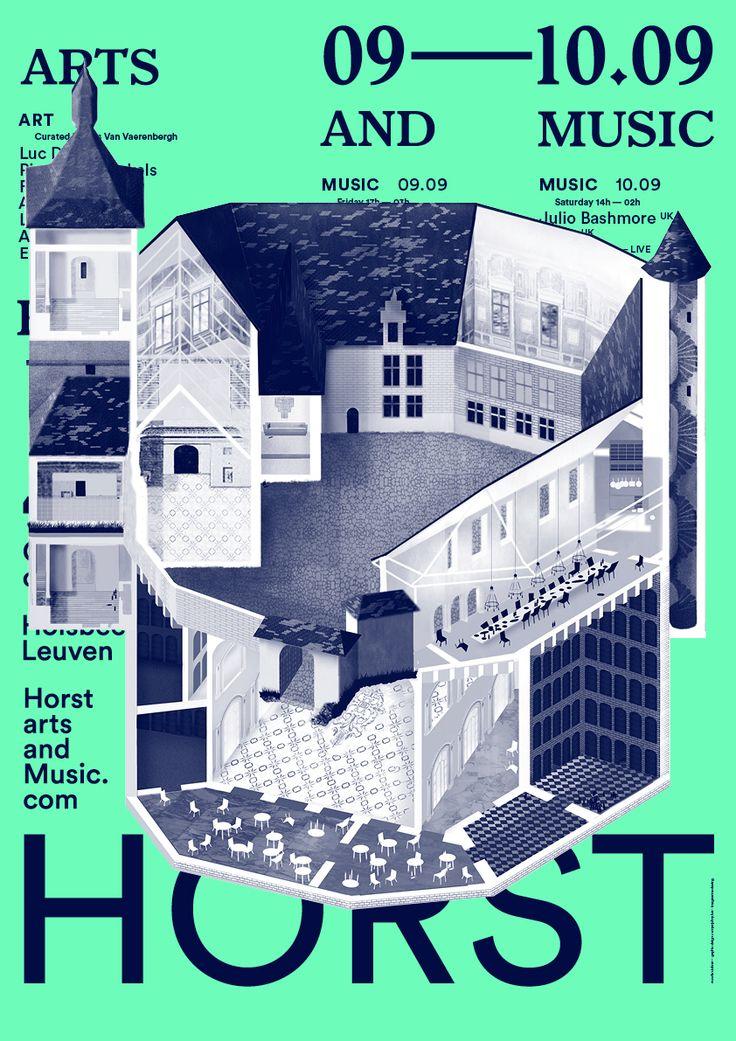 Horst Arts and Music Festival on Behance
