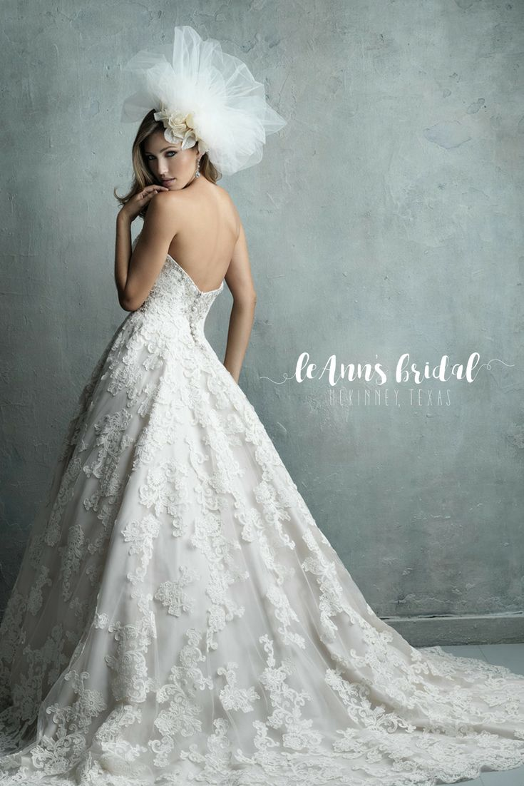 13 best Allure Couture images on Pinterest | Short wedding gowns ...