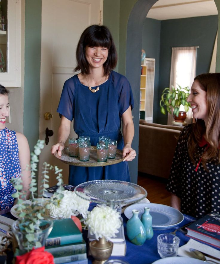 A Book Club Brunch: The Party Plan