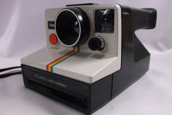 Vintage Polaroid One Step Land Camera SX-70 White by retroricks