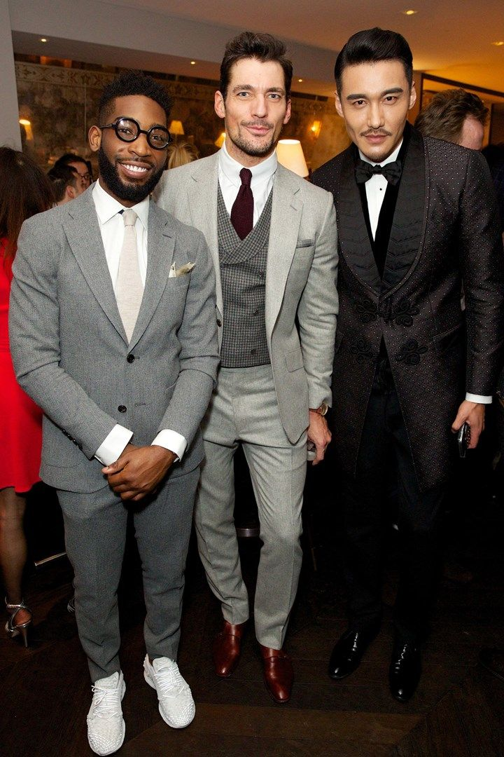 ... with Tinie Tempah and Hu Bing, LC:M Closing Dinner