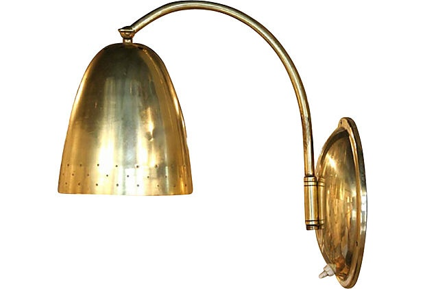 ...Vintage Marketing, Brass Sconces, Okl Vintage, Vintage Brass