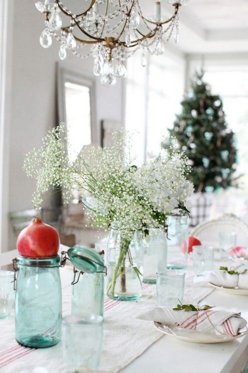 Christmas Table Settings Ideas 2013 Decorwhite Impression