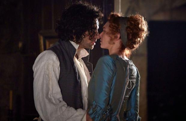 The League of British Artists, with Karen V. Wasylowski: Eleanor Tomlinson consults boyfriend before Aidan ...