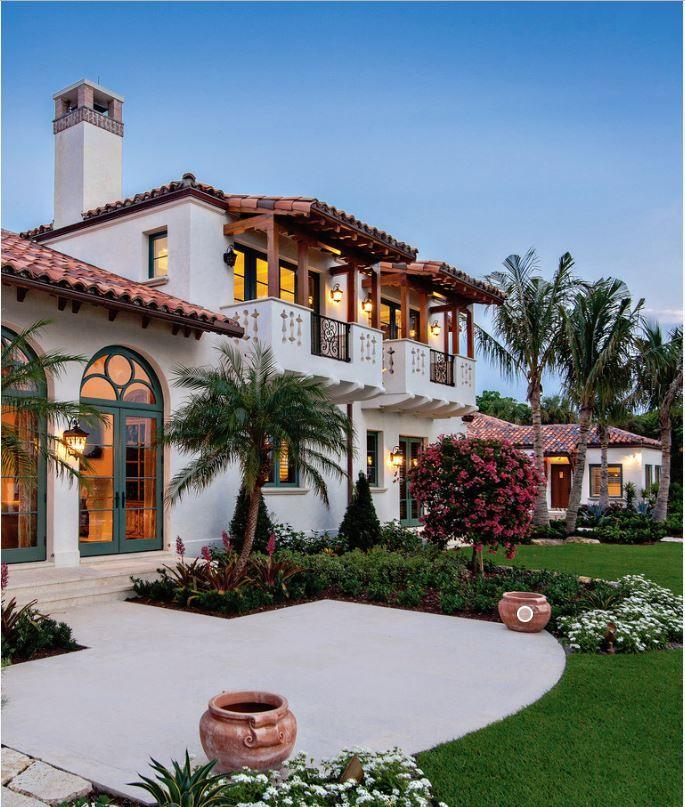 Beautiful Spanish Home Spanish Style Homes Mediterranean Homes Mediterranean Style Homes