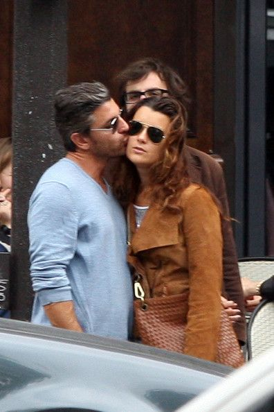 Cote de Pablo and Diego Serrano Together in Paris - Cute - Is he why Cote is leaving NCIS? I kind of understand!!