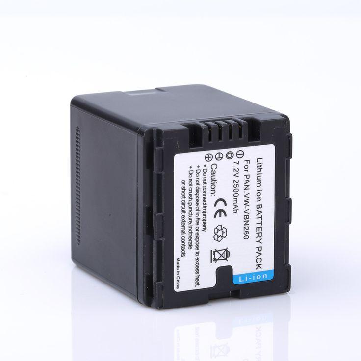 $18.79 (Buy here: https://alitems.com/g/1e8d114494ebda23ff8b16525dc3e8/?i=5&ulp=https%3A%2F%2Fwww.aliexpress.com%2Fitem%2FHIBTY-7-4V-2500mAh-VW-VBN260-VBN260-Camera-Battery-For-Panasonic-HC-X800-HC-X900%2F32492652453.html ) [HIBTY] 7.4V 2500mAh VW-VBN260 VBN260 Camera Battery For Panasonic HC-X800 HC-X900 HDC-HS900 TM900 SD900 SD800  VBN390 VBN130 for just $18.79