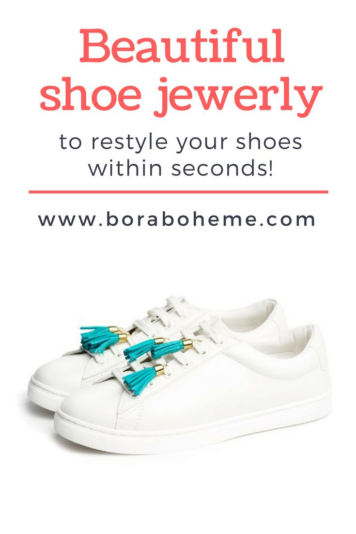 Tassels to restyle your shoes!