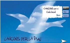 TIC, LLAPIS I PAPER: CANÇONS PER LA PAU