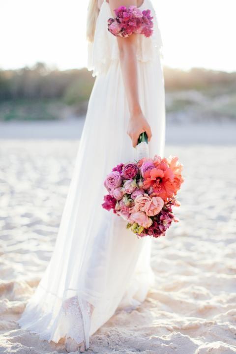 bouquet mariée, mariage, wedding, bride, flowers, fleurs, rose, pink