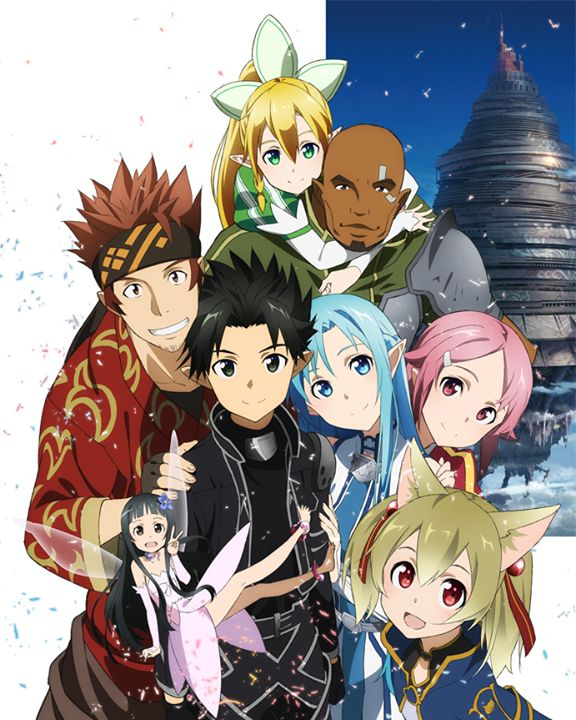 Alfheim Online cast Source…