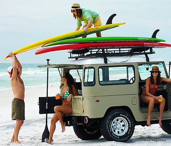 Surfboards. Check.