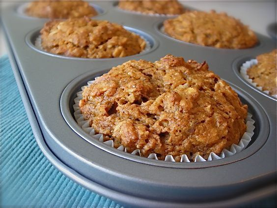 Oatmeal sweet potato muffin- These muffins turned out great, and I will definitely be making them again! The recipe was unclear on the number of servings, but I thought this made 12 nicely sized muffins.- NW