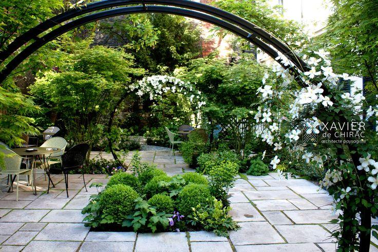 Jardin au coeur de Paris