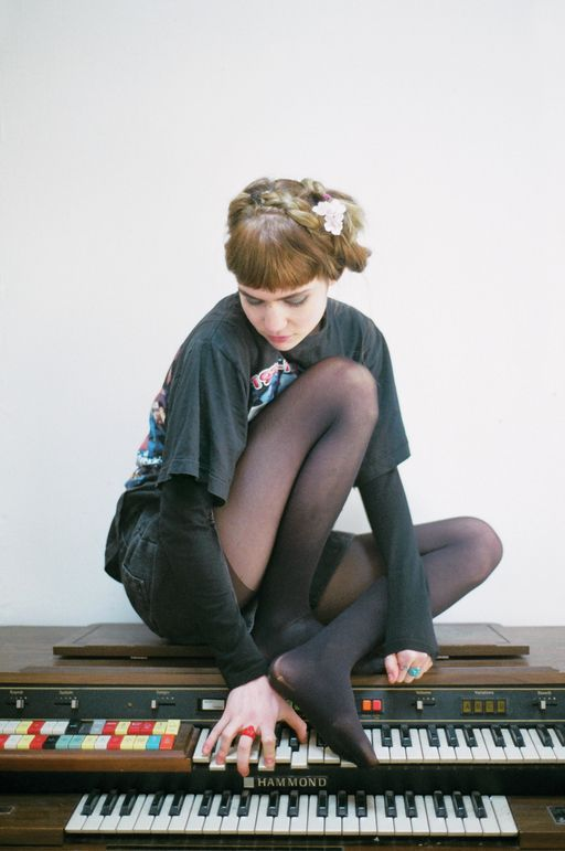 grimes, there's something really pretty about her