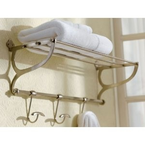 track with railway mirror cast bathroom rolled magnificent towel metal rack shelves stunning wall swivel a towels beveled luggage toy mounted display aged racks ends style shelf ball train hooks building for ideas