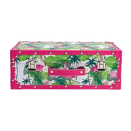 Tropicana Suitcase Small 37cm x 25cm x 13cm $14 from $28