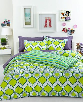 Trina Turk Bedding, Geo Drop Comforter Sets - Bedding Collections - Bed & Bath - Macy's