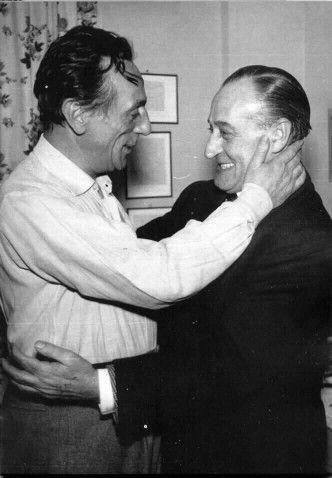 Eduardo de Filippo and Totò