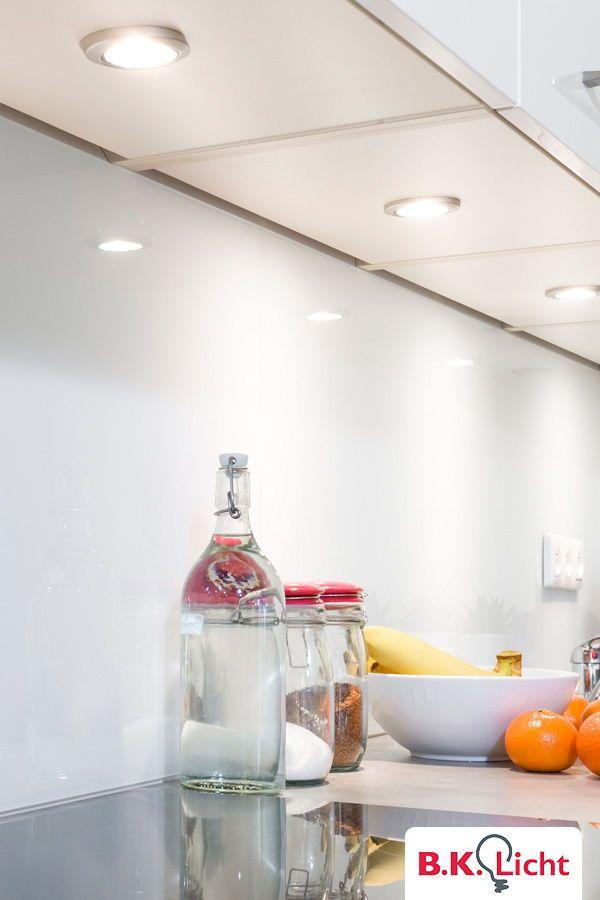 Kuchenbeleuchtung Gutes Licht In Der Kuche Und Fur Den Arbeitsbereich 6er Set Led Unterbauleuchten Spen Vitrinenbeleuchtung Schrankleuchten Unterbauleuchten