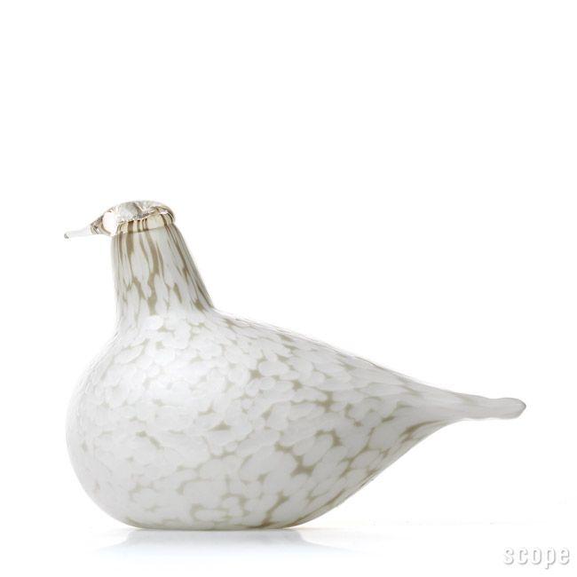 iittala Birds by Oiva Toikka Willow Grouse. Since 1981.
