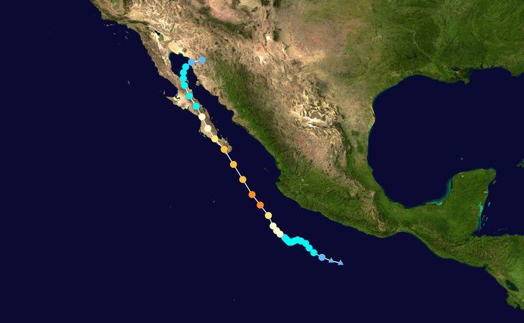 Odile 2014 track - Hurricane Odile