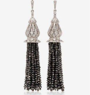 Universal Black Diamond Earrings