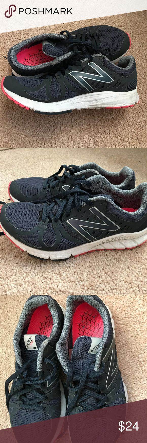 New Balance Vazee Rush women's sneakers size 8 Comfortable sneakers for running, training and fitness. Worn infrequently and in great condition! Fits a size 8. Priced reasonably as listed for much more online! New Balance Shoes Athletic Shoes