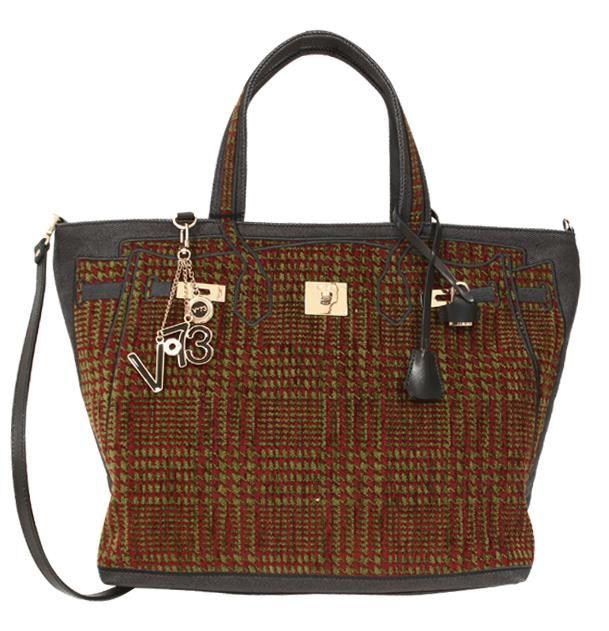 V73 Tweed Bag Rust/Green http://www.v73.us/textile-bags/tweed-02/123-tweed-bag-ruggine-verde #v73 #bag #rust #green #tweed