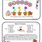 Great teacher tool for reminders of Revised Bloom's levels