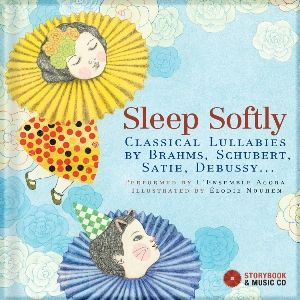 "Creative Blog Mom had this to say about ""Sleep Softly"": ""This book is an excellent gift for a baby shower, birthday, christening, and even for a mother during pregnancy. The soft and peaceful sounds would benefit both mom and baby. And it's certainly never too early to learn the classics!"""