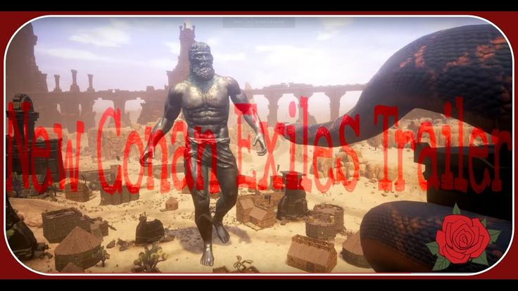 Conan Exiles! (Giants and more) https://www.youtube.com/watch?v=Tb6N5TptZG8 #gamernews #gamer #gaming #games #Xbox #news #PS4