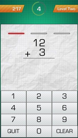FlowPlus: Add. Subtract. Her øves minus og plus stykker på 3 levels i et minut ad gangen. Normalpri 16 kr, i påsken gratis.
